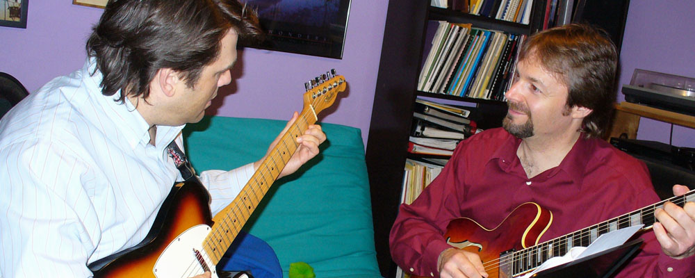 Philadelphia Guitar Lessons with David Joel