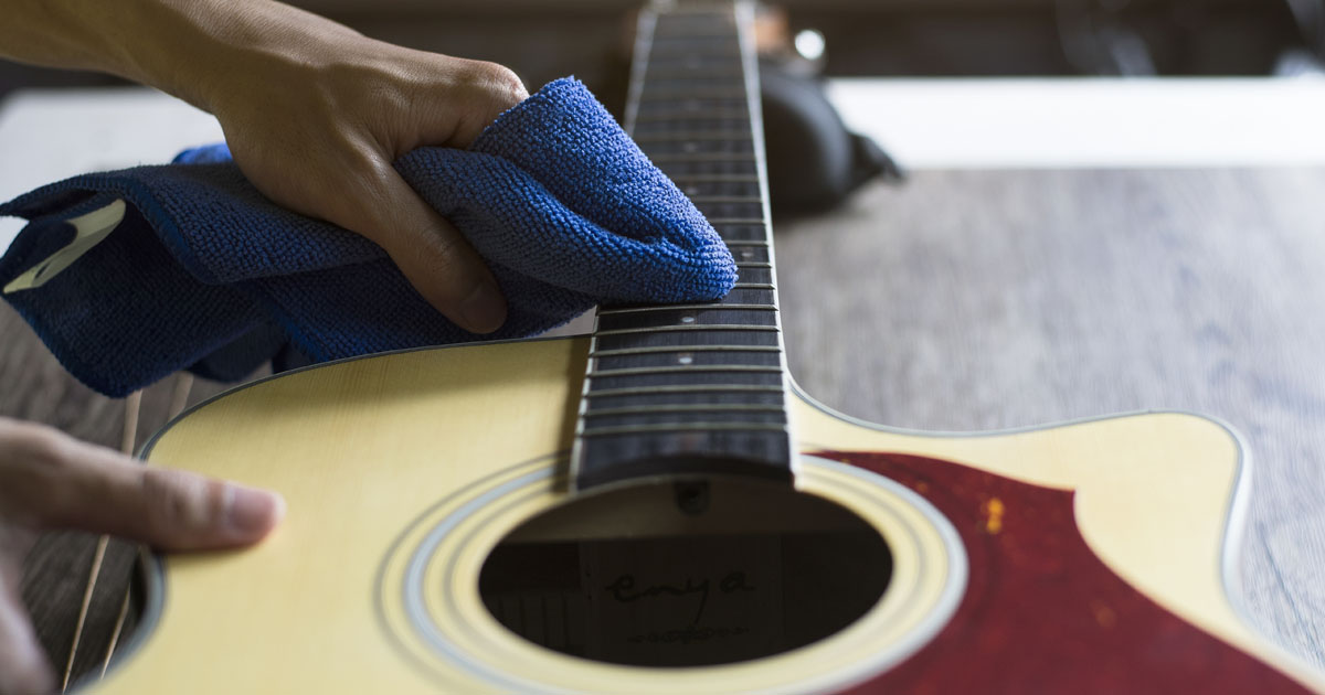 how-to-clean-your-guitar